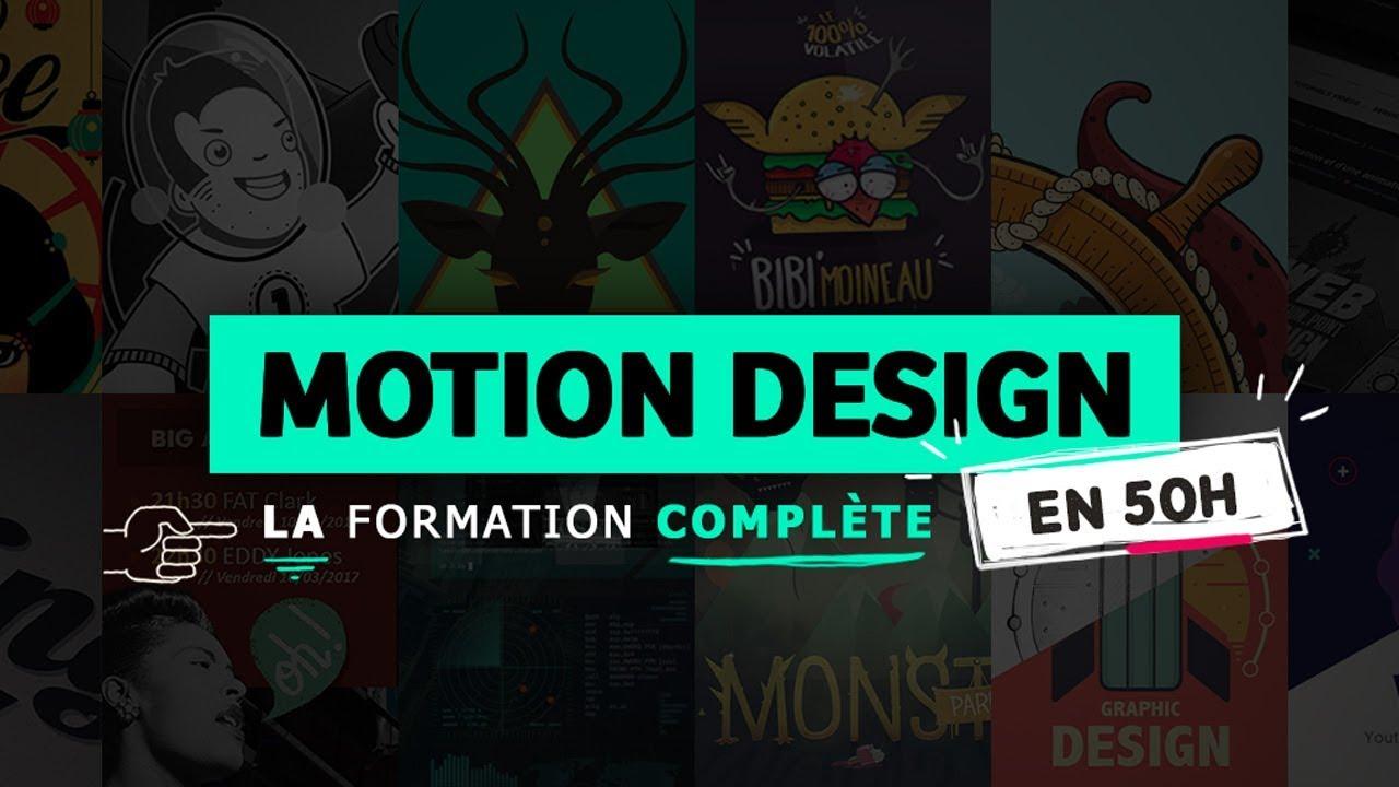 motion design formation cmomplète
