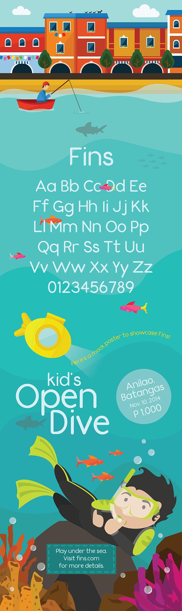 Fins Free Font