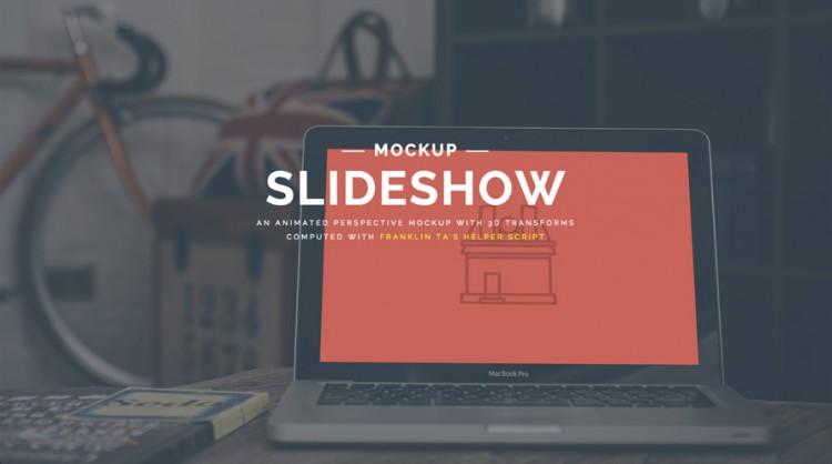 Mockups animés en perspective avec CSS3