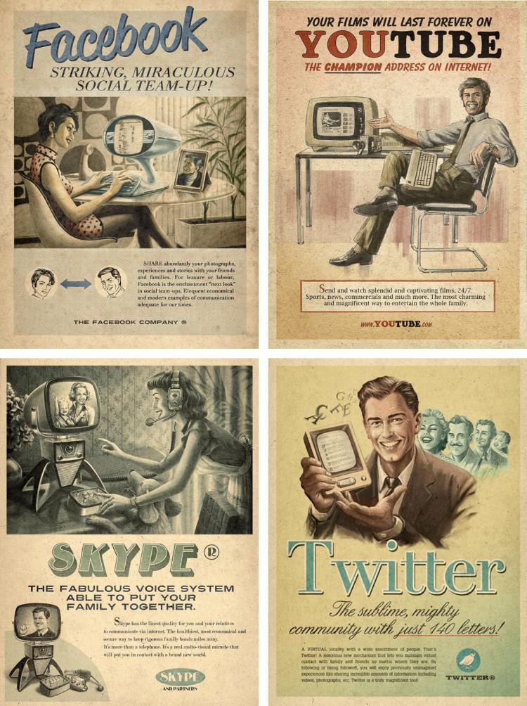 tutoriel cr er une affiche vintage r tro avec illustrator. Black Bedroom Furniture Sets. Home Design Ideas