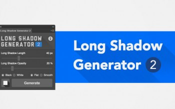 Plugin effet Long Shadow pour Photoshop