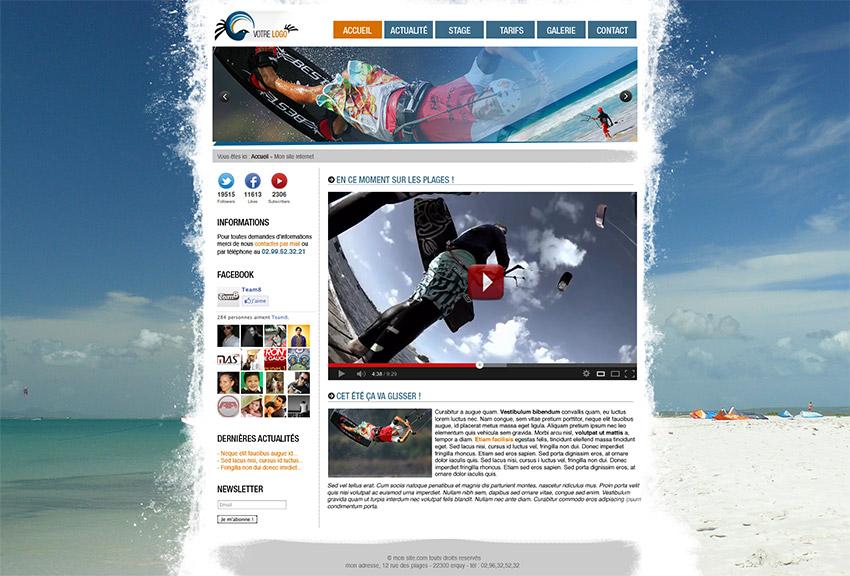 tutoriel cr 233 er une maquette de site vitrine avec photoshop