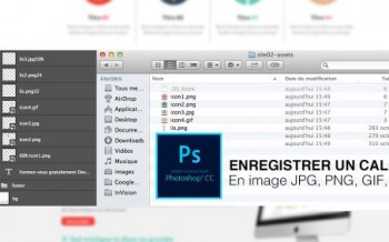 Tutoriel enregistrer un calque avec Adobe Generator