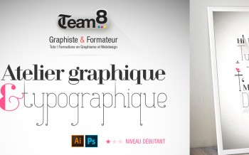 tuto composition et typographies vectorielles dans Illustrator