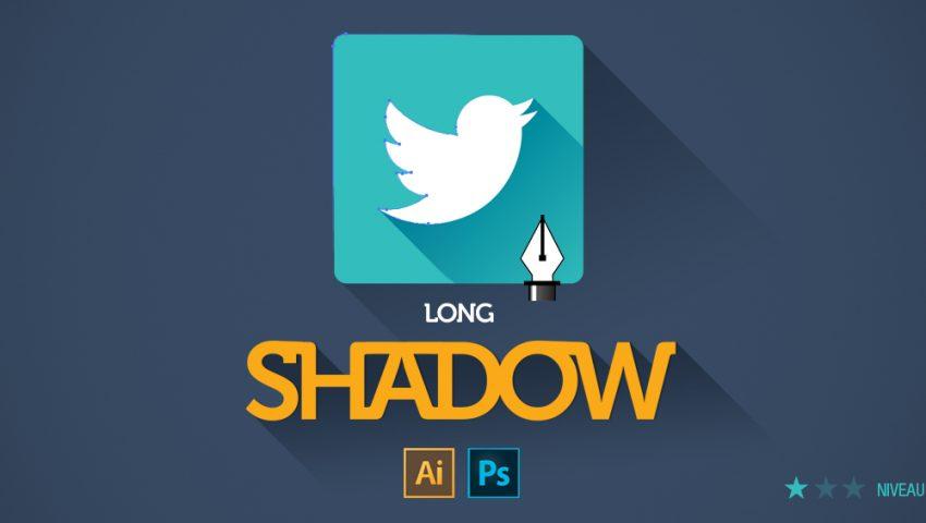 tuto effet long shadow sur des icônes avec Illustrator