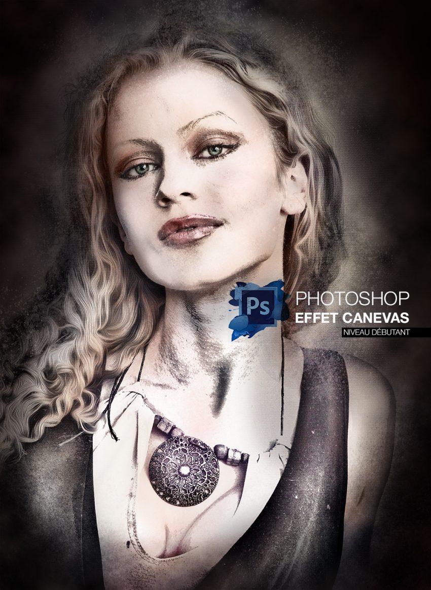 Tutoriel effet peinture transformer un portrait avec photoshop - Photo effet peinture ...