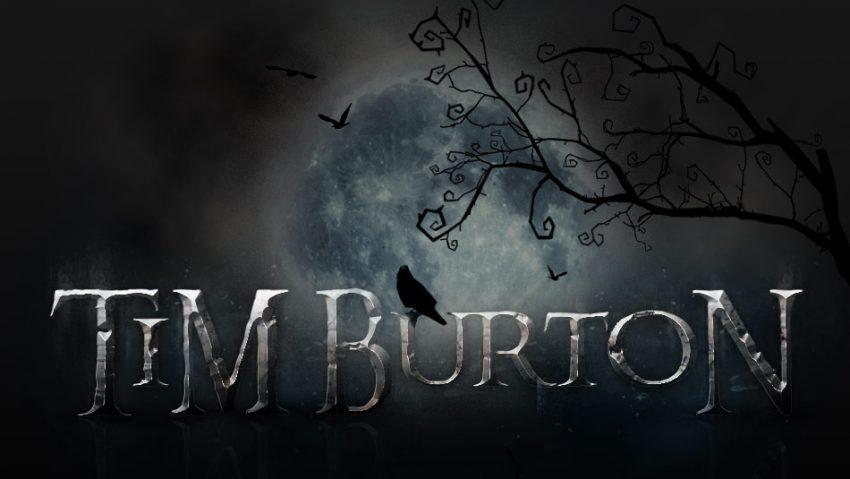univers Tim Burton avec Photoshop