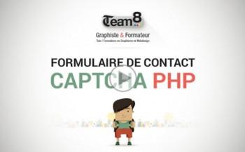 Tutoriel formulaire de contact et captcha image en PHP