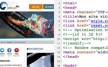 Tutoriel intégration HTML CSS