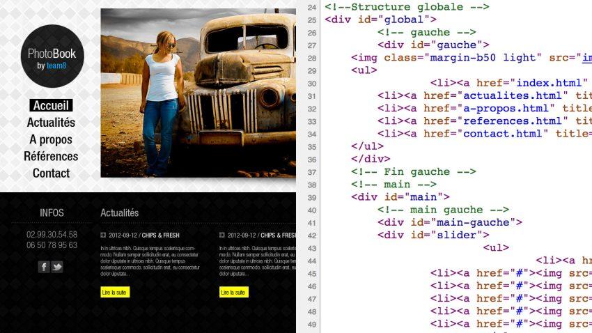 Intégration HTML CSS