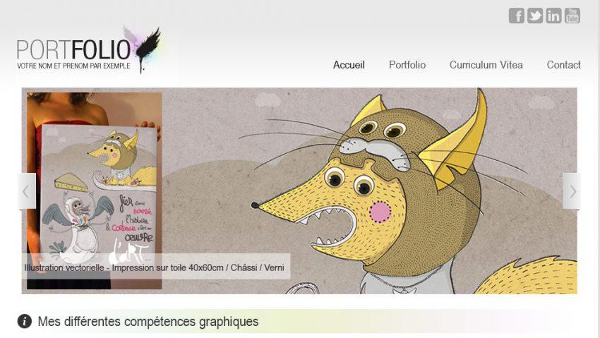 tutoriel int u00e9gration d u0026 39 un template portfolio html css