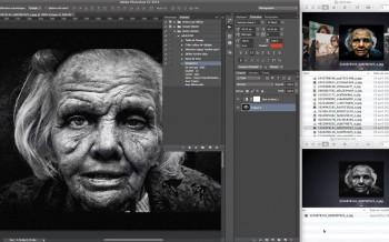 Tutoriel actions et traitement dans Photoshop