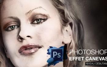 tuto effet peinture transformer un portrait avec Photoshop