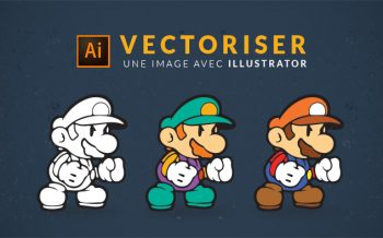 Tuto vectoriser une image avec Illustrator