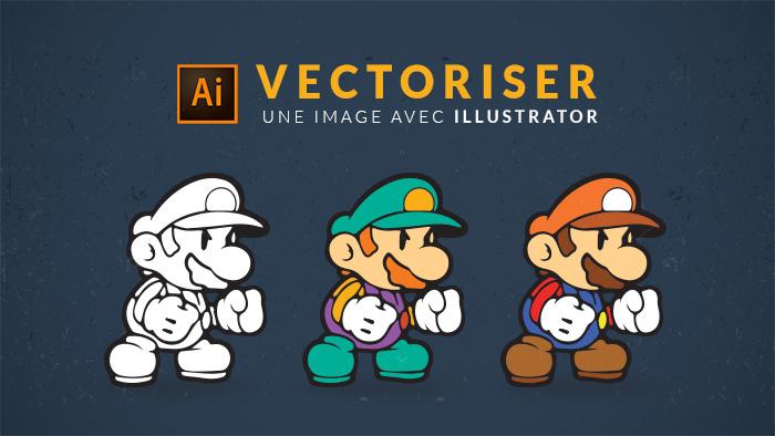 Vectoriser une image ou un logo sur Illustrator