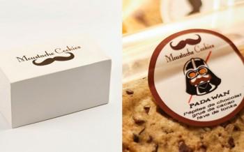 Moustache Cookies - Une communication graphique et décalée