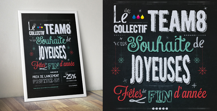 Tutoriel créer une affiche lettering avec photoshop