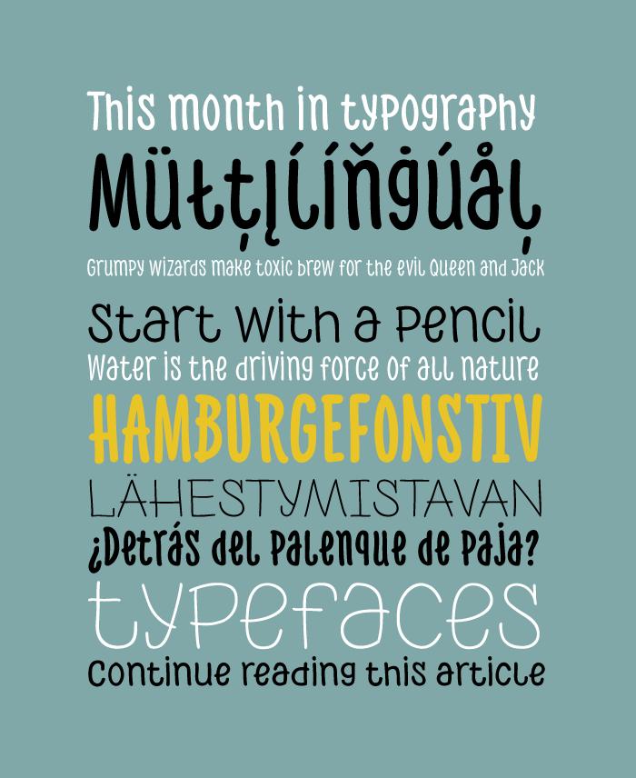 ph typographie gratuite