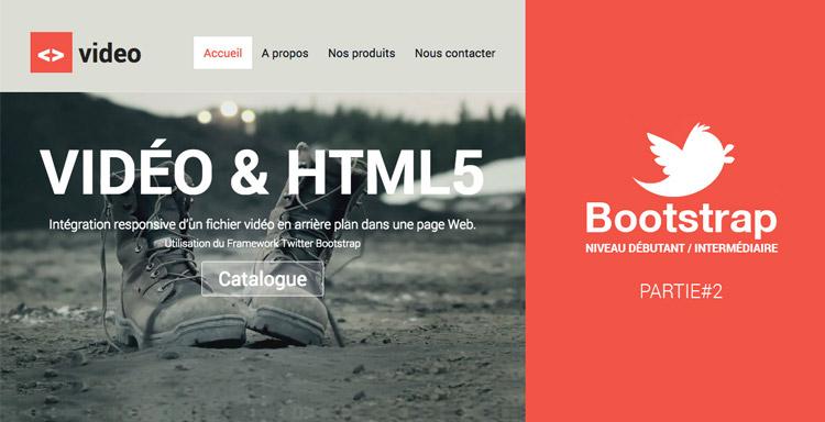 Intégration responsive d'un site Web et d'une video HTML5