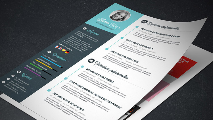 tutoriel cv graphiste