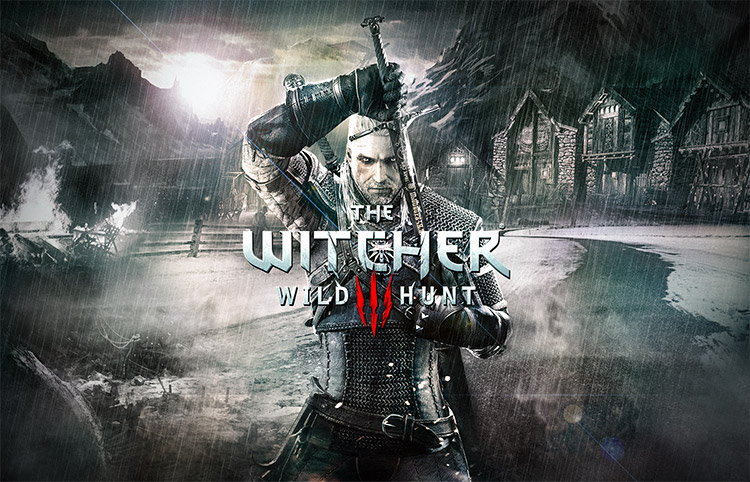 compositing The Witcher 3