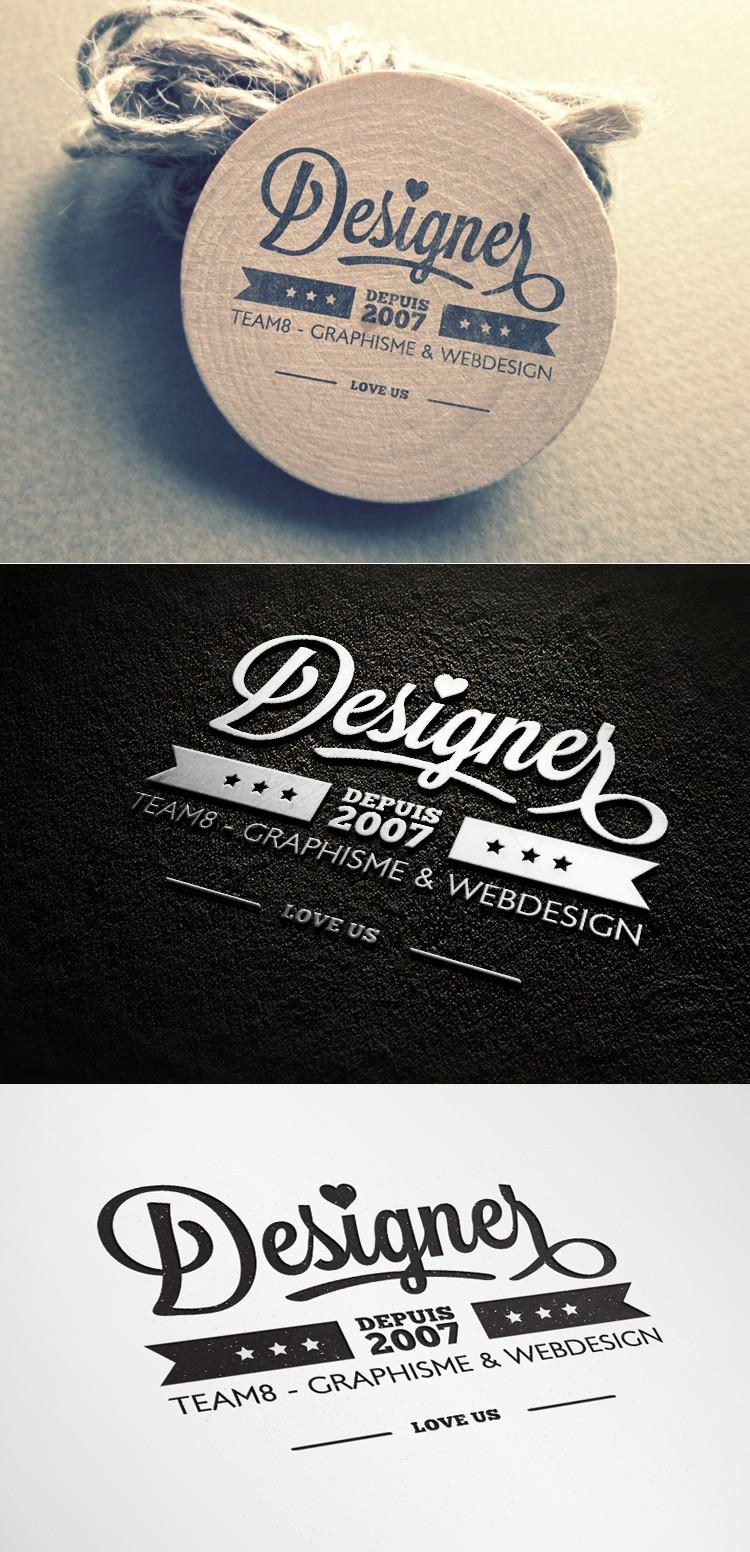 logo illustrator mockup