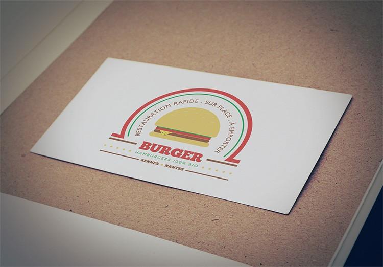 mockup logo burger coul