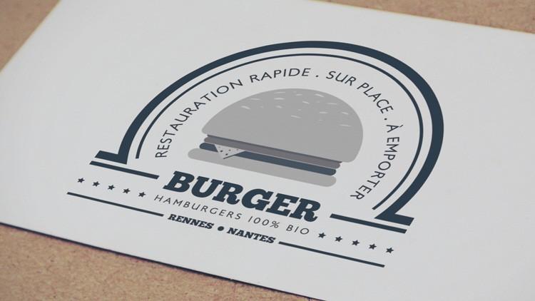 tuto illustrator creer logo burger illustrator