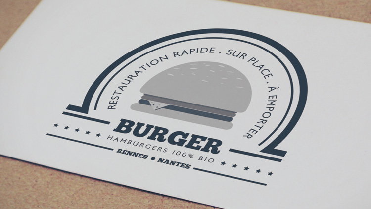 tuto illustrator creer logo burger illustrator