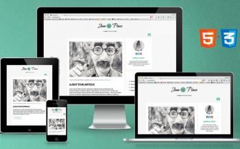 Créer un blog responsive