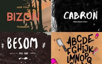 4 typographies gratuites