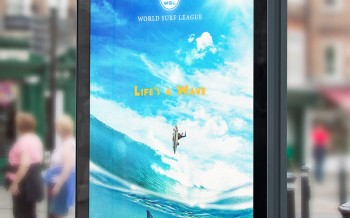 Compositing World Surf League avec Photoshop by Sebastien Cabanes