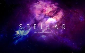 stellar font gratuite