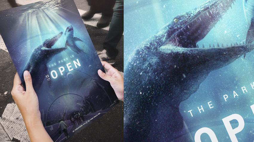 Tutoriel compositing d'affiche Jurassic World avec Photoshop