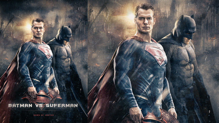 tuto compositing batman v superman photoshop