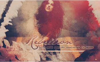 Rebellion - Ma première création avec Photoshop CS6