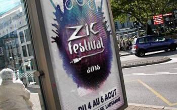Affiche fictive d'un festival de musique