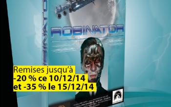 Création d'un DVD et d'une affiche Robinator by Robin Nissen