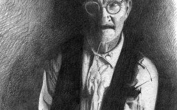 Illustration vieil homme by Frédéric Poullet