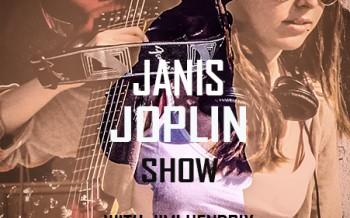 Affiche de concert Janis Joplin by Jefferson Rosier
