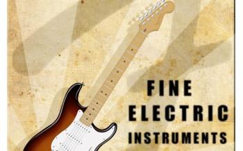 Affiche guitare fender by bernard falempe