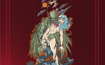 Drakul ! Un illustration réalisée avec Illustrator by chris hody
