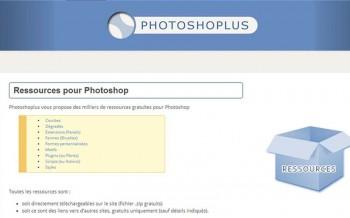 Photoshoplus - Ressources graphiques pour Photoshop