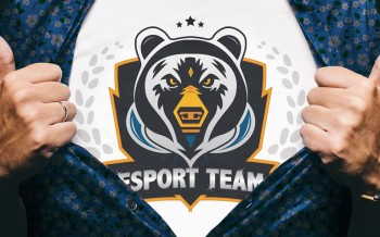 tuto logo team esport illustrator