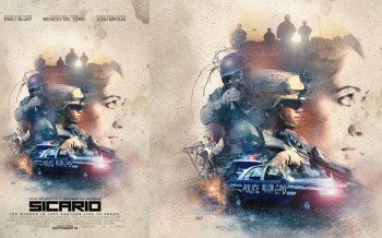 tuto affiche film sicario photoshop