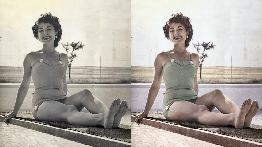 Photoshop - Restauration et colorisation de photos anciennes