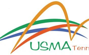 Logo USMA Tennis by nicolas belperche