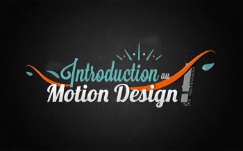 tuto introduction au motion design