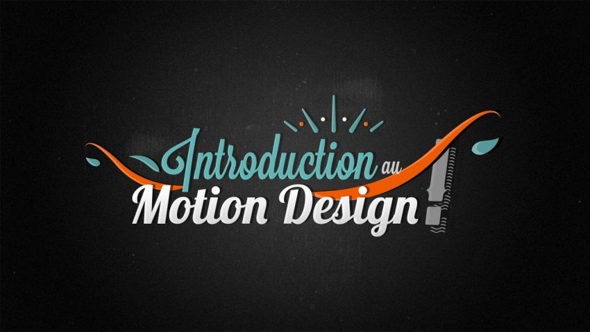 tuto introduction au motion design