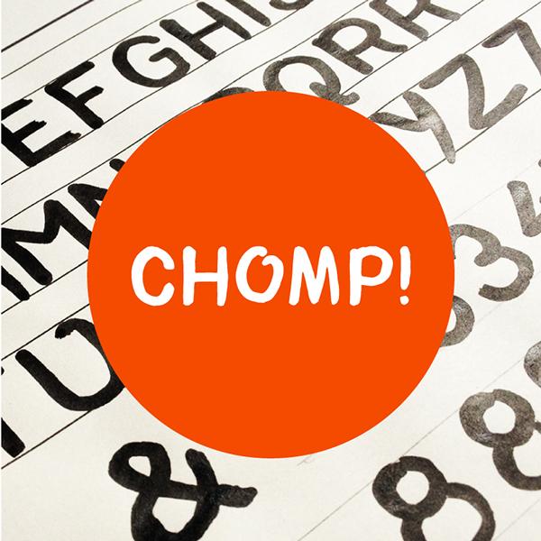 Chomp Typeface